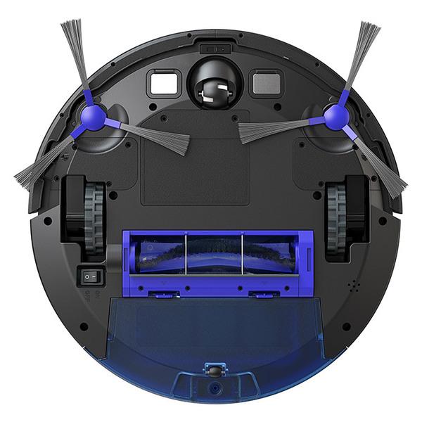 نمای زیرین جاروبرقی رباتیک یوفی مدل r450