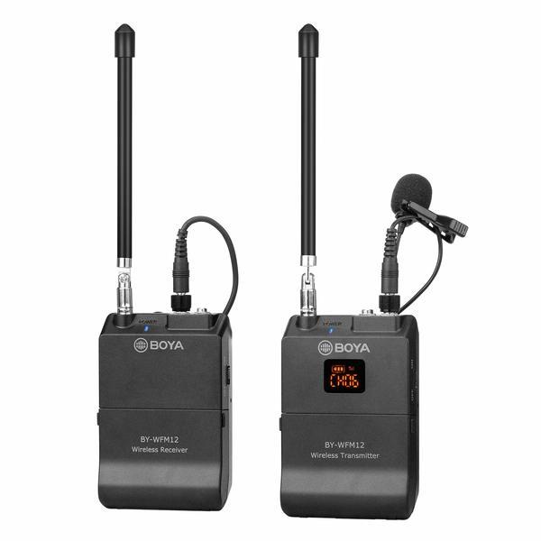 میکروفون بی سیم بویا مدل BY-WFM12