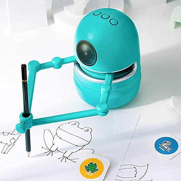 ربات طراحی با عملکرد آموزشی و سرگرم کننده برای کودکان