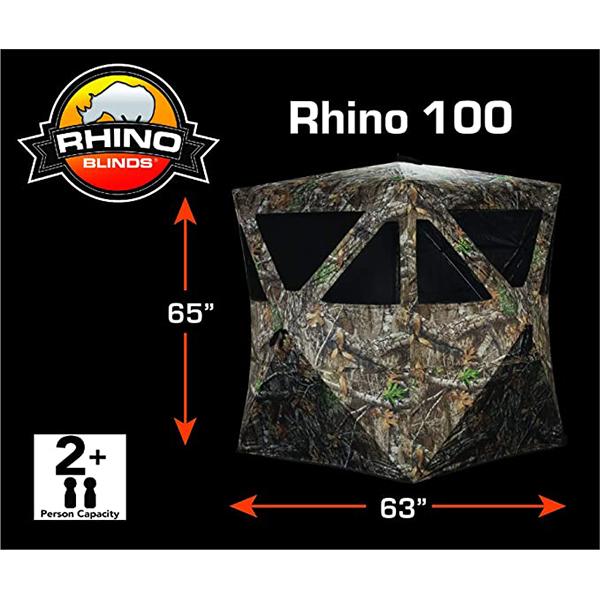 ابعاد چادر مسافرتی 2 نفره Rhino