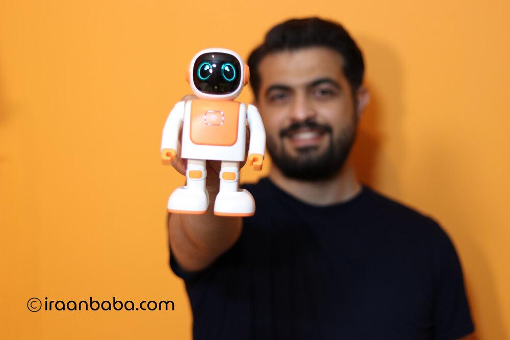 معرفی ربات رقاص رابرت
