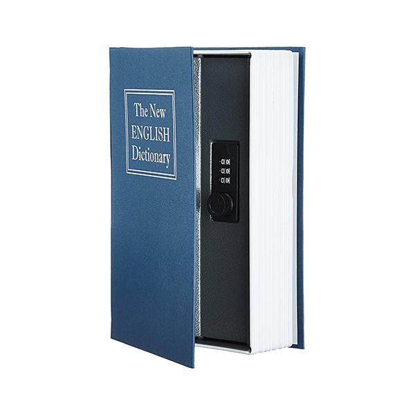صندوق کتابی رمزدار مدل دیکشنری