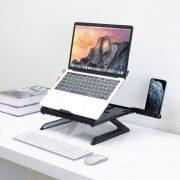 پایه قابل تنظیم لپ تاپ ترونسمارت مدل D07