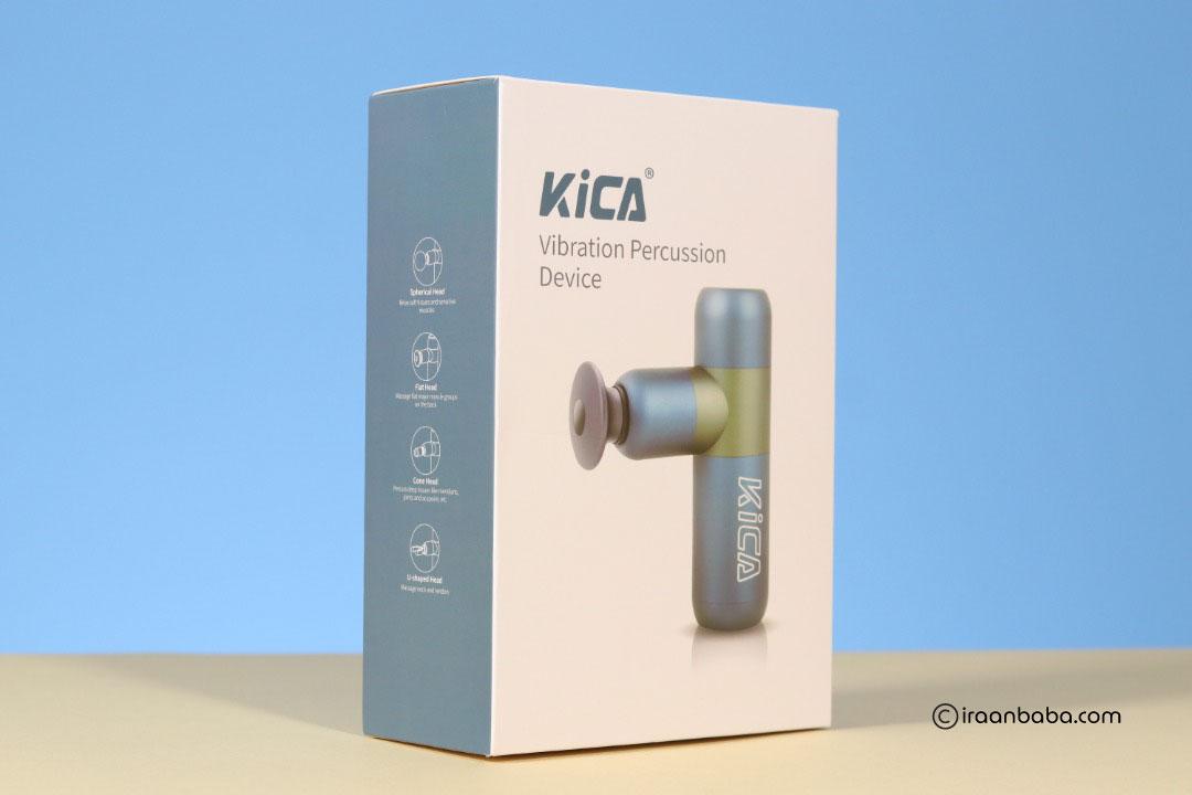 بسته بندی ماساژور kica k2